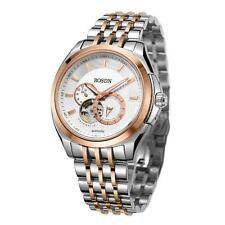 ROSDN Mens Automatic Skeleton Analog Watch Self Winding Mechanical in Box H3R0
