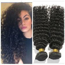 4 Bundles/200G Remy Weft 100% Brazilian Deep Curly Wave Human Hair Extensions