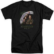 Stargate SG1 Cast Stacked Mens Big and Tall Shirt