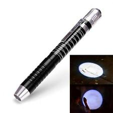 CREE XPE-R3 LED 1000 Lumens Lamp Clip Mini Penlight Flashlight Torch AAA UK