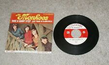 The Monkees-Picture Sleeve Last Train To Clarksville - 45 RPM Colgems 66-1001
