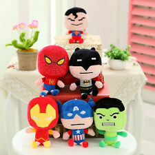 Cute Super Heroes Action Figures Stuffed Plush Soft Doll Kids Children Baby Toy