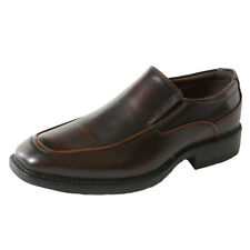 Alpine Swiss Brig Mens Moc Toe Dress Shoes Slip on Loafer Versatile Dress Casual
