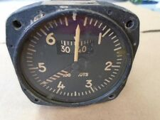 1 EA USED TYPE L-7A PITOT AIRSPEED INDICATOR - VINTAGE AIRCRAFT P/N: 1214CX8-05