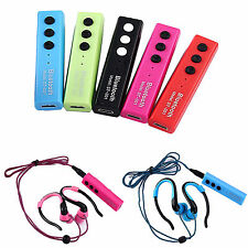 Wireless Sport Bluetooth Headset Stereo Headphone Handsfree For iPhone LG Nokia