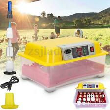 Automatic Turning 24 Eggs Digital Incubator Poultry Waterfowl Hatching Equipment