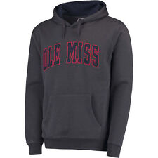 Colosseum Ole Miss Rebels Charcoal Arch Pullover Hoodie
