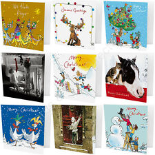 Pack of 10 Quentin Blake Marie Curie Charity Christmas Cards