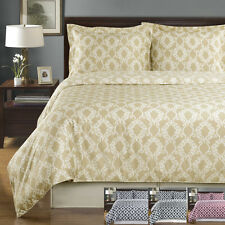 Twin/TwinXL Size 2PC Sierra Silky Soft Duvet cover set 100% Combed Cotton 300TC