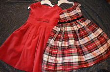 Gymboree HOLIDAY PICTURES Red Velveteen Dress NWT 7
