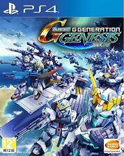 Sony PS4 Game SD Gundam G Generation Genesis HK version Chinese Subtitle Only