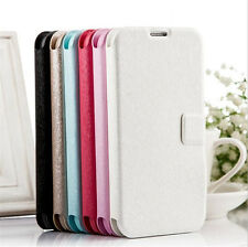 Leather Card Holder Case Cover Skin For Apple iPhone Samsung Galaxy Note cute