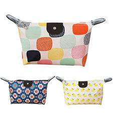 Cosmetic Makeup Bag Pencil Case Storage Pouch Purse Waterproof Travel Handbag