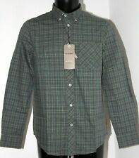 BEN SHERMAN SHIRT SIZE S TARTAN CHECKED MA00642 MOD FIT BUTTON DOWN LONG SLEEVE