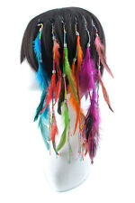 """New Cosplay Party True Cock Long Clip in/on Feather Hair Extensions Lot 11.7'"""""""