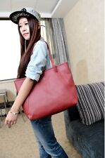 Fashion New Women Synthetic Leather Vintage Style Shoulder Bag Casual Handbag