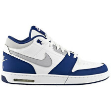 Nike Air Stepback White-Blue Men's Sneakers Shoes Sneakers mid max dunk force