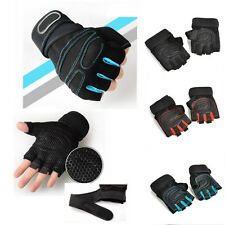 Weight Lifting Gym Breathable Gloves Wrist Wrap Sports Strength Training Gloves