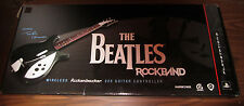 PS3 Playstation 3 The BEATLES Wireless RICKENBACKER 325 Guitar NEW In Box