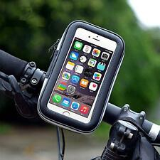 Waterproof Motorcycle Bike Bicycle Handlebar Mount Holder Cell Phone Case Mobile