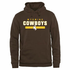 Wyoming Cowboys Brown Team Strong Pullover Hoodie - College