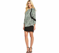 French Connection Leopard Moth Crepe Shift Dress