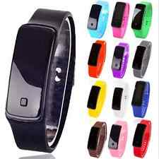 Cool Digital LED Sports Watch Unisex Silicone Band Wrist Watches Men Women Gift