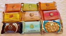 The Body Shop SOAP BARS>>>>>chOOse yOUr scEnts<<<<<FULL SIZES~~BRAND NEW~~SEALED