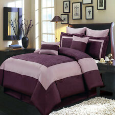 California King 12PC Wendy Bedding Set Includes Comforter Skirt Shams & Pillows