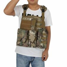 Chic Waistcoat Tactical Military Airsoft Molle Combat Assault Plate Carrier Vest