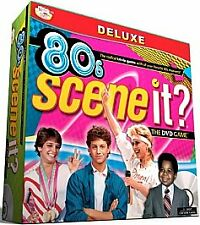 Deluxe 80s Scene It DVD Game 1980s Trivia new sealed 2009 Screenlife BRAND NEW