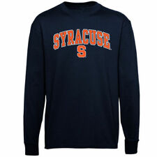 Syracuse Orange Youth Navy Blue Midsize Long Sleeve T-Shirt