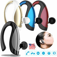 US Wireless Bluetooth Headset Stereo Earphones For Samsung iPhone 7 6 6S LG HTC