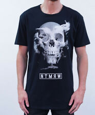 No Tomorrow In The End Cotton Crew T-Shirt Black BNWT $20 Off