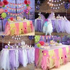 6inch x 25Yards(75ft) Tulle Roll Spool Tutu Skirt Fabric Wedding Party Bow Craft