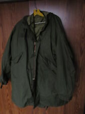 1983 US Army Issue Extreme Cold Weather Parka size Medium w/ liner & hood VGC
