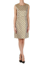 DIANE VON FURSTENBERG New Sleeveless Brocade CARRIE TWO Lame Jacquard Dress NWT