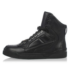 GIVENCHY New Men black TYSON High top sneakers Shoes Leather Laced NWT
