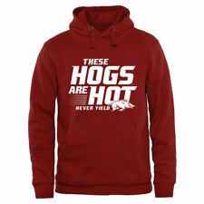 Arkansas Razorbacks Cardinal These Hogs are Hot Pullover Hoodie - College