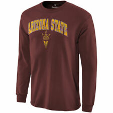 Arizona State Sun Devils Maroon Campus Long Sleeve T-Shirt