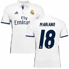 adidas Mariano Real Madrid White 2016/17 Home Authentic Jersey