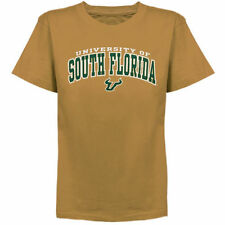 South Florida Bulls Youth Arched University T-Shirt - Gold