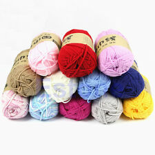 100g/Skein Milk Fiber Cotton Baby Knitting Yarn Knitting Crochet Soft Craft