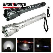 CREE T6 300LM 3 Modes Flashlight Torch Rechargeable Camping Hiking Cycling Light