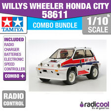 SUPER COMBO PACK! 58611 TAMIYA WILLY'S WHEELER - WR-02C R/C KIT RADIO CONTROL