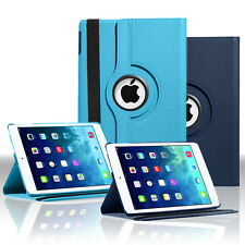 360 Rotating PU Leather Smart Case Folio Cover Stand For Apple iPad Air iPad 5