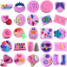 Silicone Mould Fondant Sugarcraft Chocolate Candy Icing Cake Decorating Tools