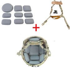 Tactical MICH ACH Helmet Retention System Universal Protection Cushion Pad Set