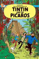 The Adventures of Tintin: Tintin et les Picaros by Herge (HB 1976) French Ed.