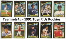 1991 Toys R Us Rookies Baseball Set ** Pick Your Team **